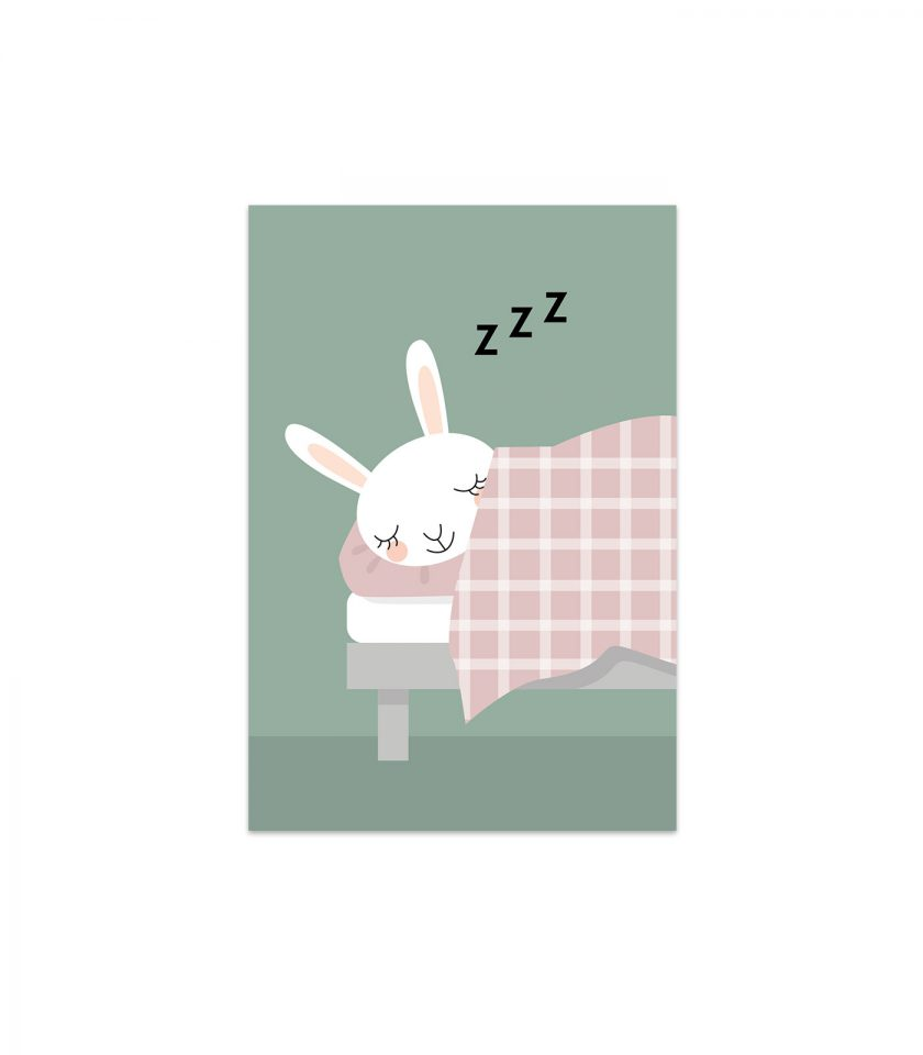 kaninen karin sover